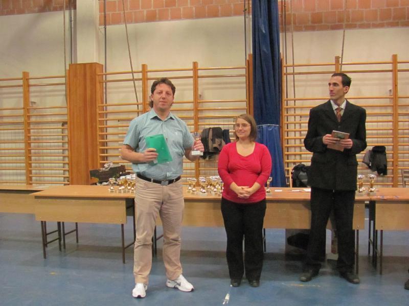 Budapest Kupa 2012 díjkiosztó - 42 túrát teljesített Kovács Tamás