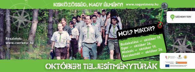Októberi teljesítménytúrák - www.cserkesz.hu