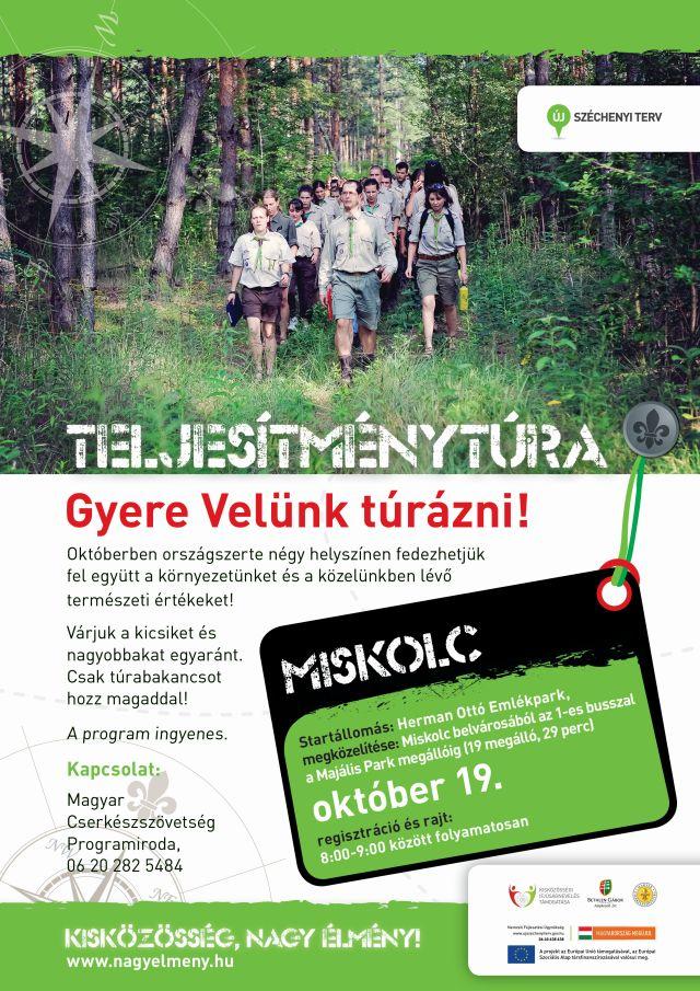 Októberi emléktúra - Miskolc