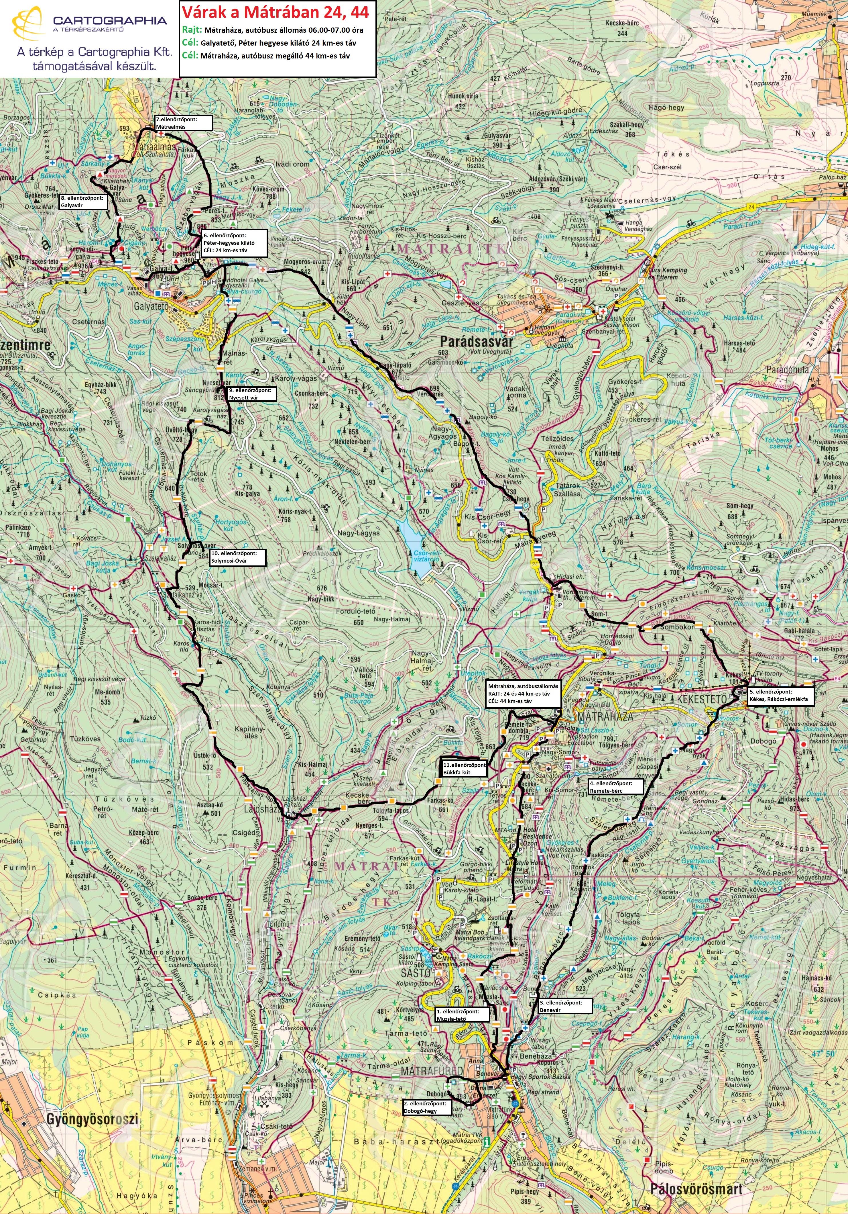 mátrafüred térkép Várak a Mátrában   Hosszú táv/Rövid táv (Előnevezés!) | TTT mátrafüred térkép