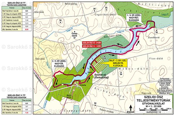 szelidi tó térkép Szelidi tó 22/11 /21MTB/11MTB (kerékpárral is teljesíthető!) | TTT szelidi tó térkép