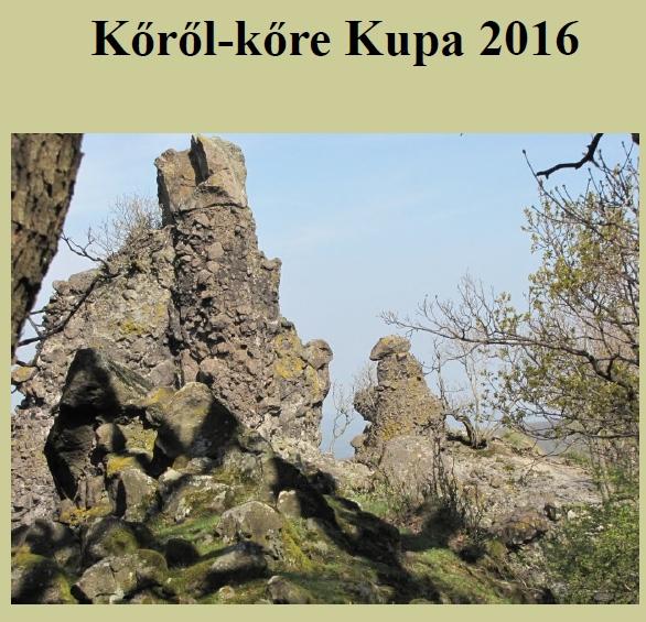 Kőről-kőre Kupa 2016