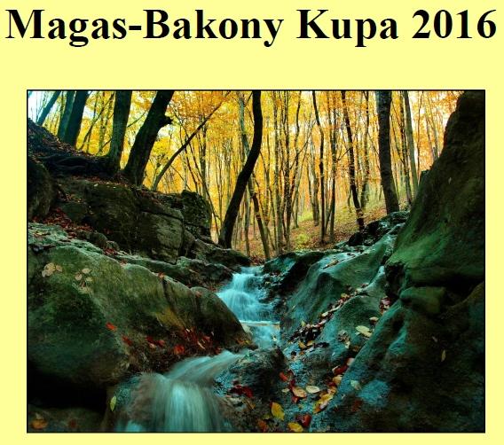 Magas-Bakony Kupa 2016