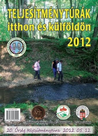 Teljesítménytúra Naptár címlap 2012