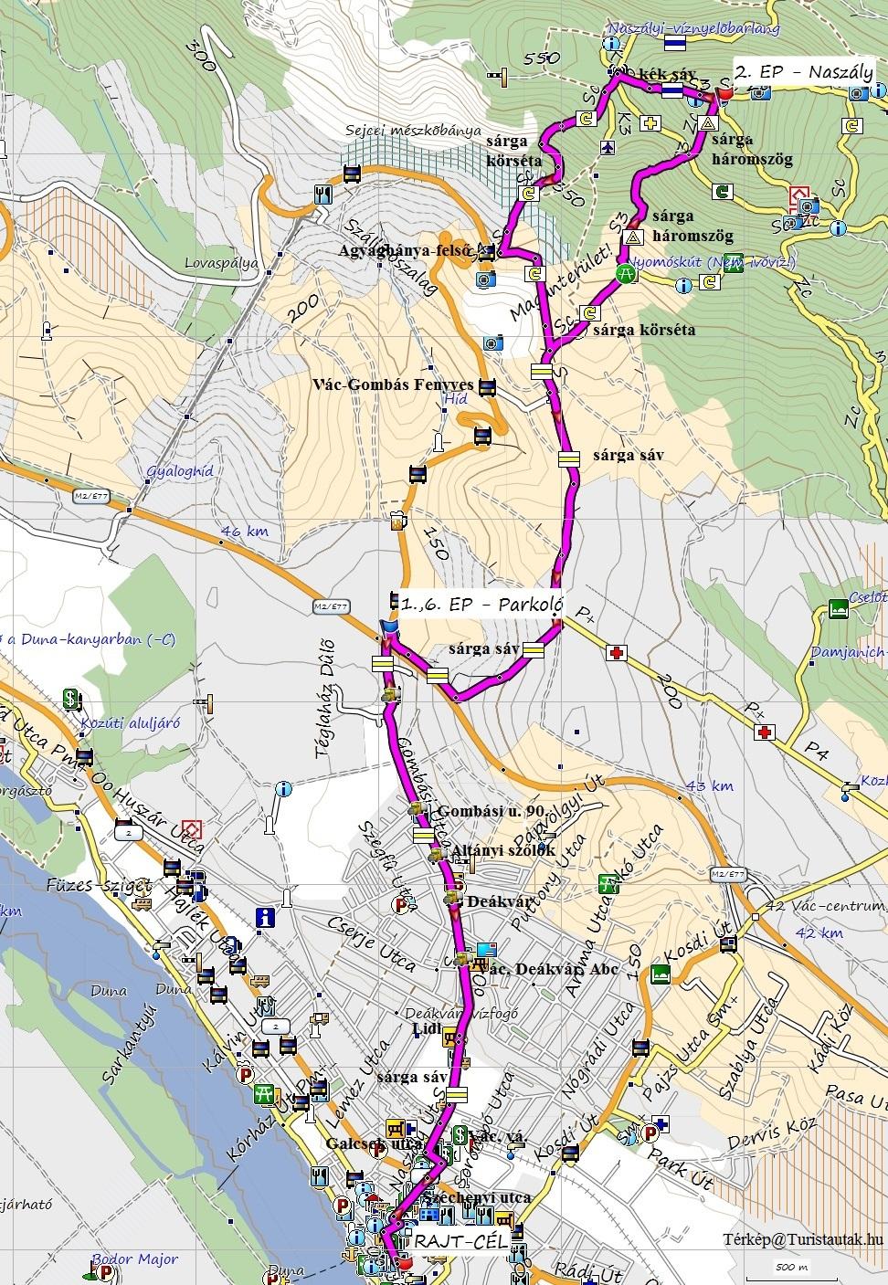 Duna Menti 15 térkép