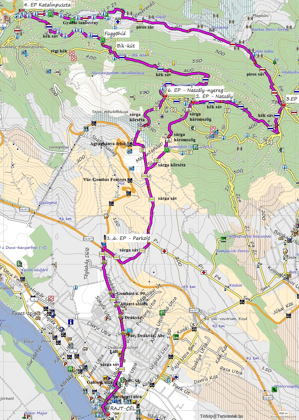 Duna Menti 35 térkép